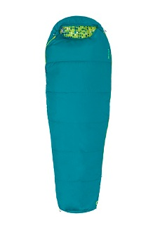 Kids' Nanowave 40° Sleeping Bag, Malachite, medium
