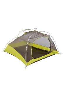 Bolt Ultralight 3-Person Tent, Dark Citron/Citronelle, medium