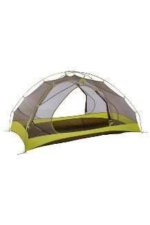 Tungsten Ultralight Hatchback 2-Person Tent, Dark Citron/Citronelle, medium