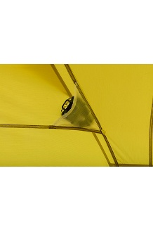 Tungsten Ultralight Hatchback 2-Person Tent, Dark Citron/Citronelle, medium