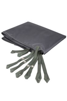 Guest House 4-Person Tent Footprint, Slate Grey, medium