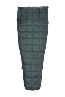 Micron 50 Sleeping Bag, Crocodile/Grey Storm, medium