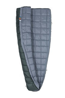 Micron 50° Sleeping Bag - Long, Crocodile/Grey Storm, medium