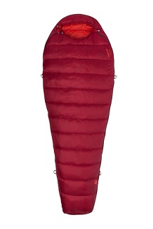 Micron 40° Sleeping Bag - Long, Sienna Red/Tomato, medium