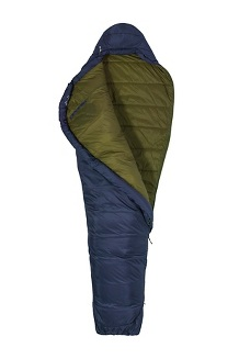 Ultra Elite 30° Sleeping Bag - Long, Dark Steel/Military Green, medium