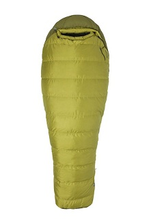 Radium 30 Sleeping Bag - Long, Dark Citron/Military Green, medium