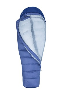 Women's Radium 20° Sleeping Bag - Long, Blue Heron/Deep Dusk, medium