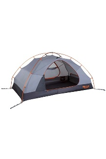 Fortress 2-Person Tent, Tangelo/Grey Storm, medium