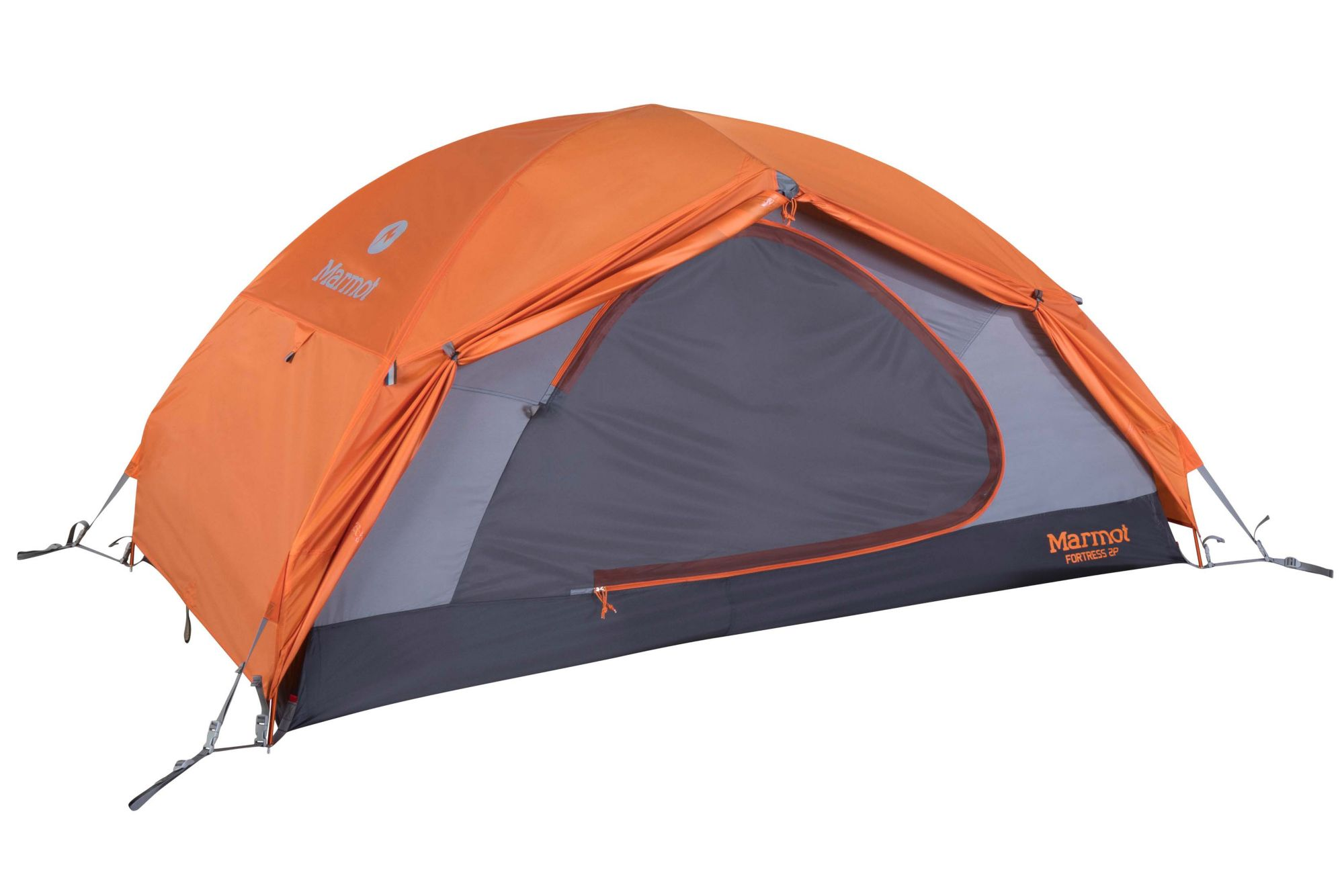 Tangelo//Grey Marmot Fortress 2 Person Lightweight Backpacking Tent