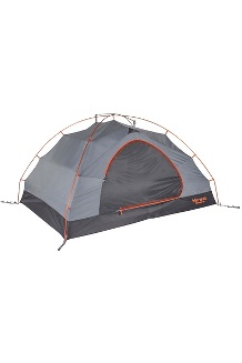 Fortress 3-Person Tent, Tangelo/Grey Storm, medium
