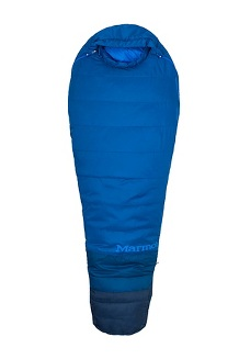 Trestles 15° TL Sleeping Bag - Long, Classic Blue/Estate Blue, medium