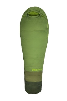 Trestles 30° TL Sleeping Bag - Long, Peridot/Cedar, medium