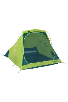 Mantis 2-Person Plus Tent, Macaw Green/Deep Teal, medium