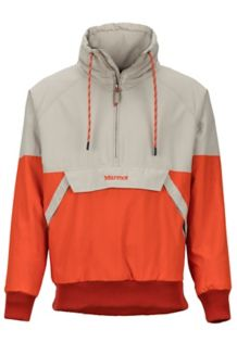 Lynx Insulated Anorak, Light Khaki/Orange Haze, medium