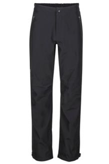 Minimalist Waterproof Pants, Black, medium