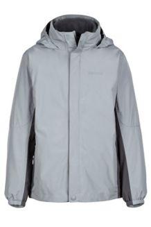 Boy's Northshore Jacket, Grey Storm/Slate Grey, medium
