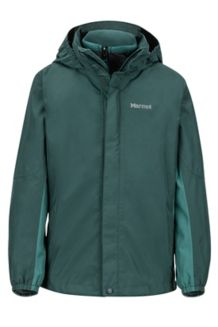 Boy's Northshore Jacket, Dark Spruce/Mallard Green, medium