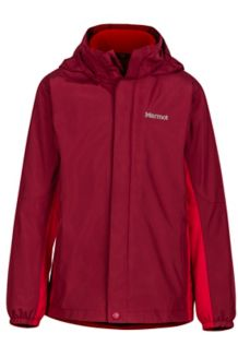 Boy's Northshore Jacket, Brick/Team Red, medium