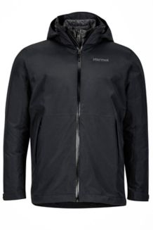 Featherless Component Jacket, Black, medium