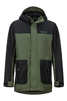 Men's Wend Jacket, Crocodile/Black, medium