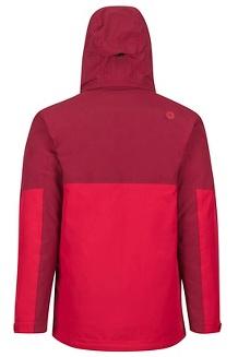 Featherless Component Jacket, Brick/Team Red, medium