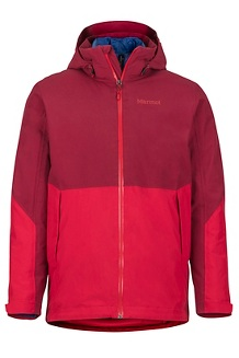 Featherless Component Jacket, Brick/Team Red, medium