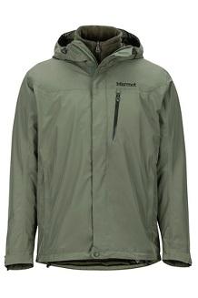 Men's Ramble Component 3-in-1 Jacket, Crocodile/Rosin Green, medium