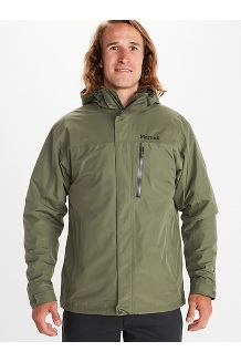 Men's Ramble Component 3-in-1 Jacket, Crocodile/Rosin Green, medium