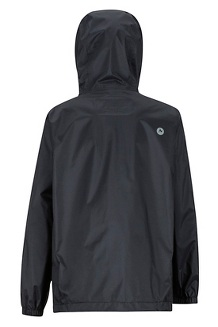 Kids' PreCip Eco Jacket, Black, medium