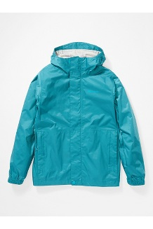 Kids' PreCip Eco Jacket, Enamel Blue, medium