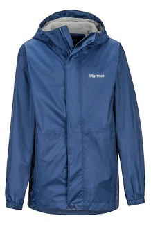 Boys' PreCip Eco Jacket, Arctic Navy, medium