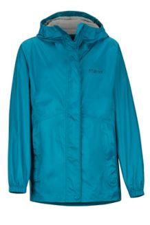 Girls' PreCip Eco Jacket, Late Night, medium