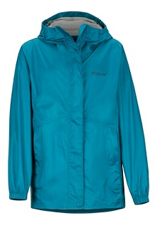 Girls' PreCip Eco Jacket, Late Night, medium