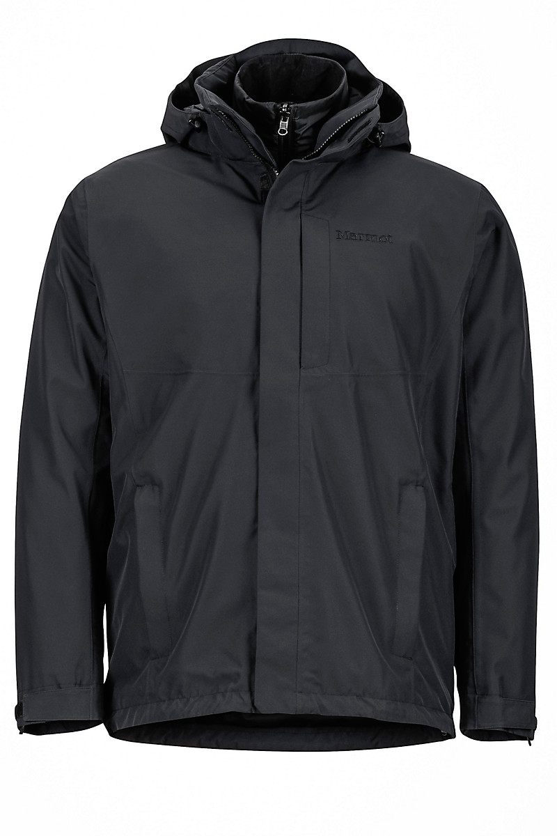 Castleton Component Jacket, Black, large