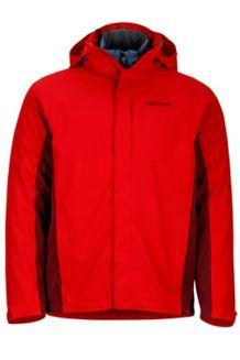 Castleton Component Jacket, Team Red/Port, medium