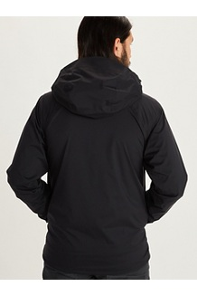 Men's PreCip Stretch Jacket, Black, medium