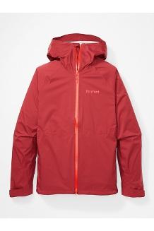 Men's PreCip Stretch Jacket, Brick, medium
