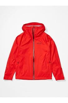 Men's PreCip Stretch Jacket, Victory Red, medium