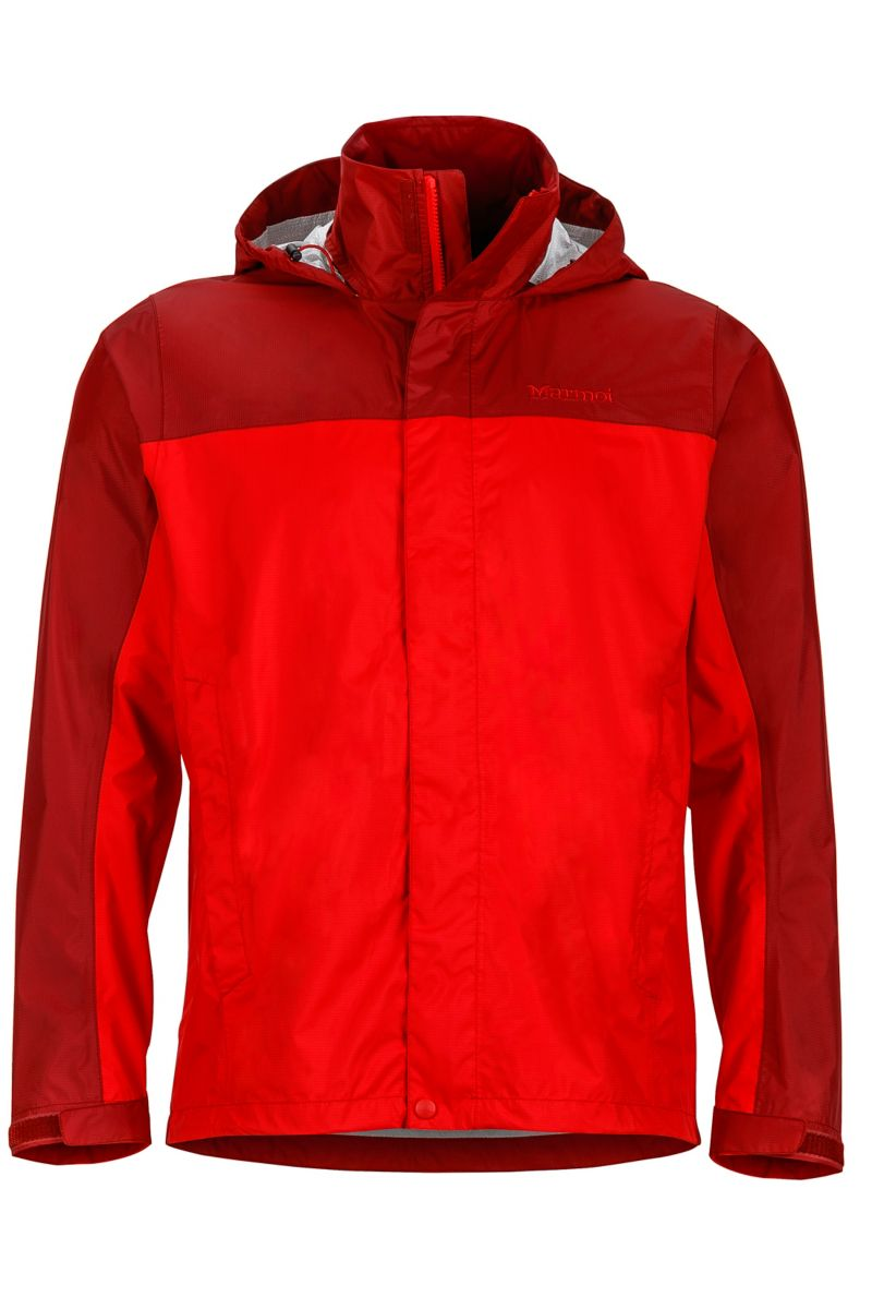 PreCip Jacket, Team Red/Brick, large