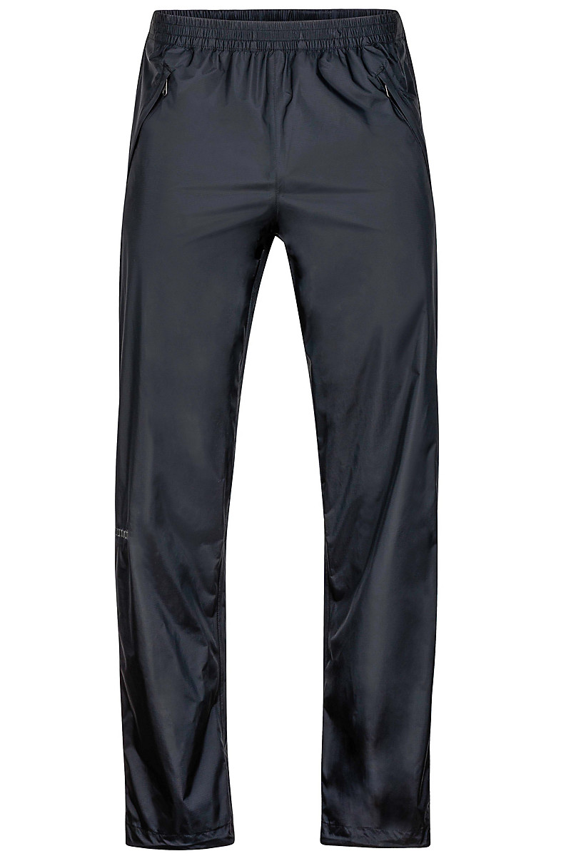 PreCip Full Zip Pant Long, Black, large
