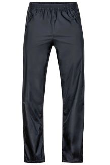 PreCip Full Zip Pant Short, Black, medium
