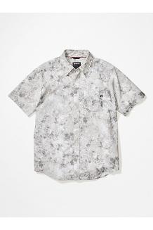 Men's Bennett Peak Short-Sleeve Shirt, Light Grey Leaf Camo, medium