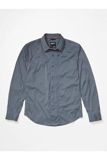 Men's Runyon Long-Sleeve Shirt, Steel Onyx, medium