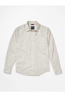 Men's Runyon Long-Sleeve Shirt, Moonbeam, medium