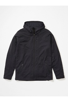 Stonewall Fleece Hoody, Black, medium