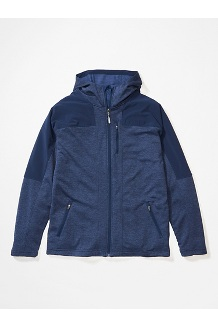 Men's Stonewall Fleece Hoody, Arctic Navy/Arctic Navy, medium