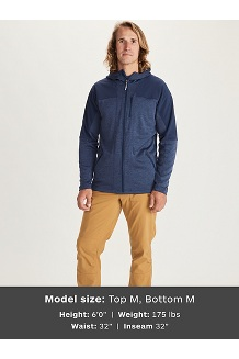 Stonewall Fleece Hoody, Arctic Navy/Arctic Navy, medium