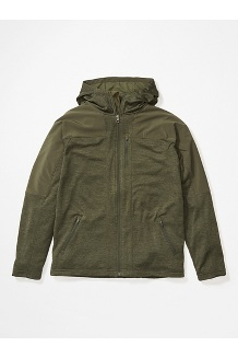 Stonewall Fleece Hoody, Nori, medium