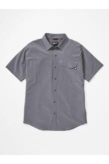Men's Northgate Peak Short-Sleeve Shirt, Steel Onyx, medium