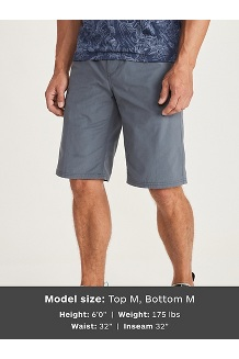 Men's Rubidoux 12'' Shorts, Steel Onyx, medium